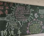 预防新型肺炎疫情黑板报高中模板