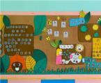 关于幼儿园抗击疫情主题环创图片